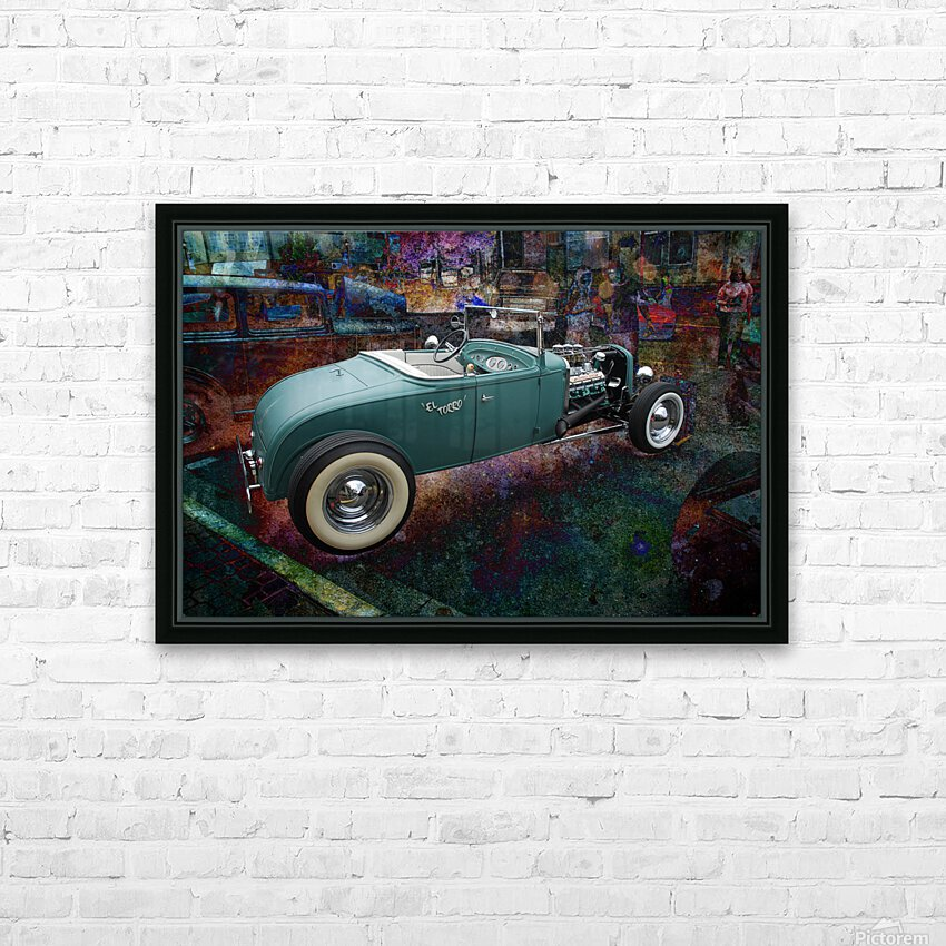 El Torro HD Sublimation Metal print with Decorating Float Frame (BOX)