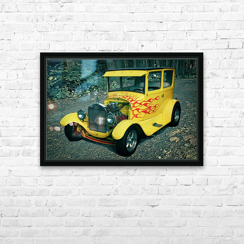 1927 Ford Model-T HD Sublimation Metal print with Decorating Float Frame (BOX)