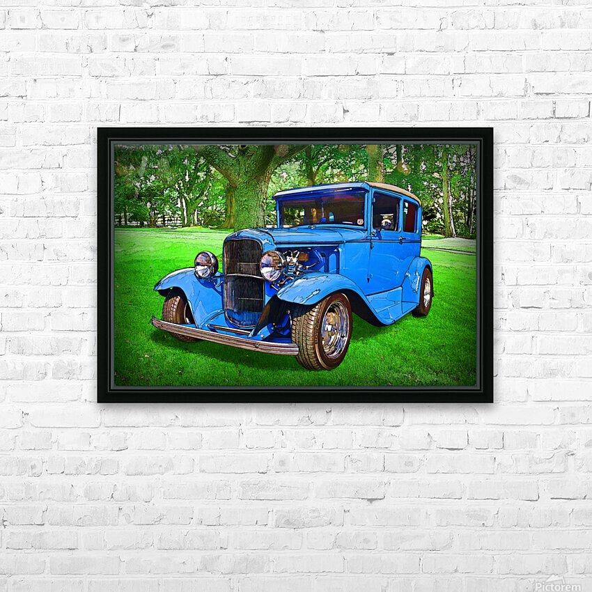 1930 Ford HD Sublimation Metal print with Decorating Float Frame (BOX)