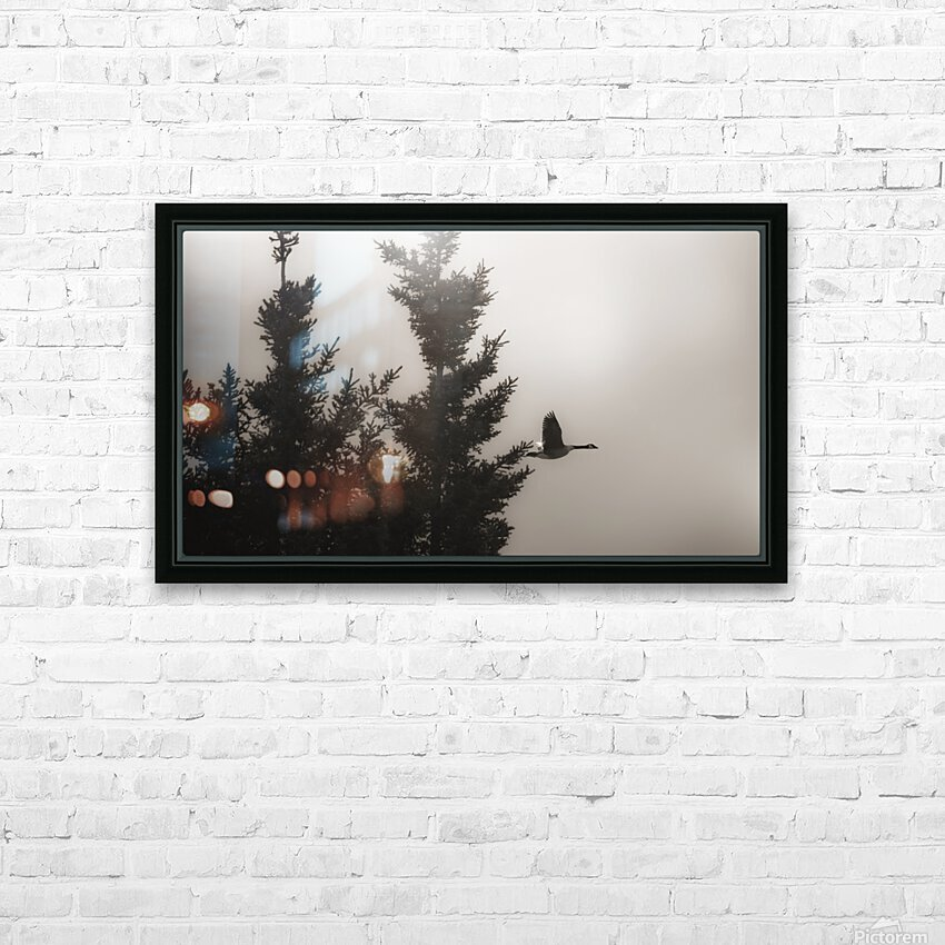 Morning Fog HD Sublimation Metal print with Decorating Float Frame (BOX)