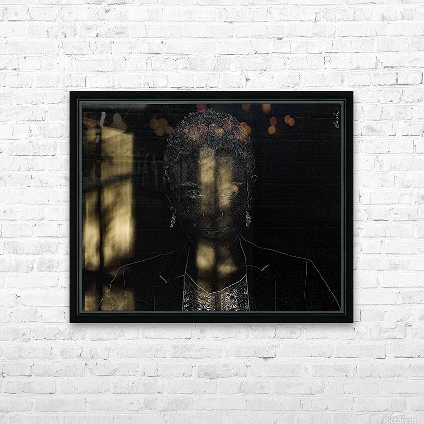 Entrer dans la lumiere -  Step into the light HD Sublimation Metal print with Decorating Float Frame (BOX)