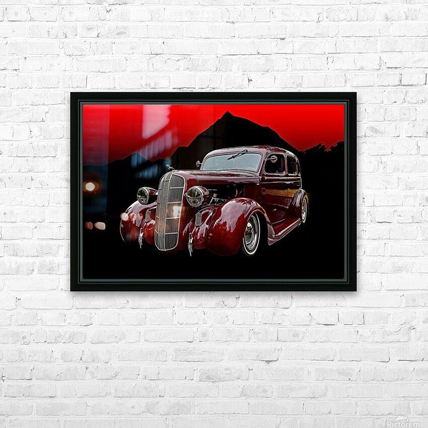 1936 Dodge 4-Door Sedan HD Sublimation Metal print with Decorating Float Frame (BOX)