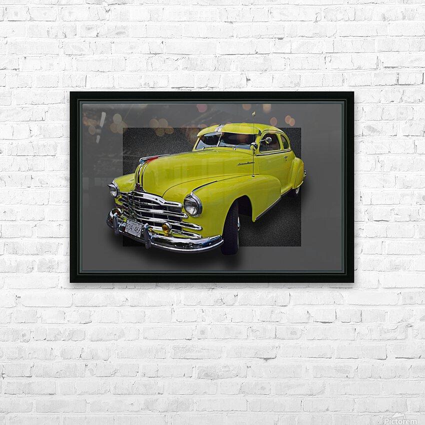 1948 Pontiac Silver Streak HD Sublimation Metal print with Decorating Float Frame (BOX)