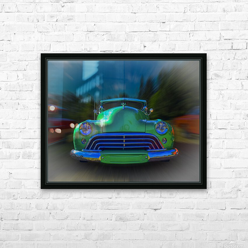 1947 Oldsmobile 2-Door HD Sublimation Metal print with Decorating Float Frame (BOX)