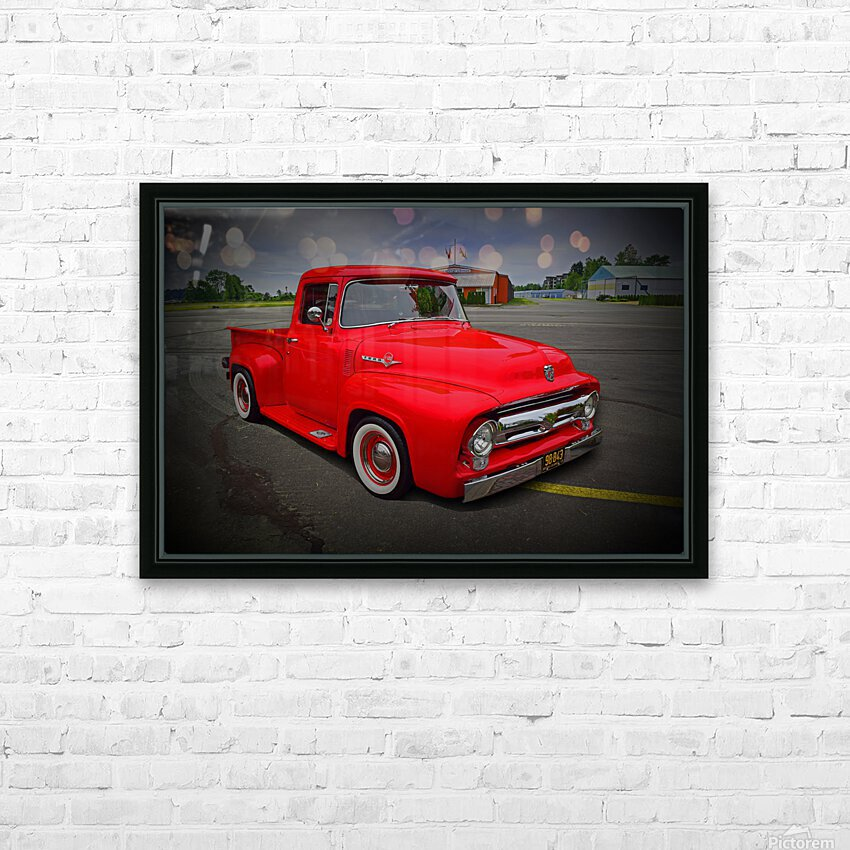 1953 Ford Pickup HD Sublimation Metal print with Decorating Float Frame (BOX)