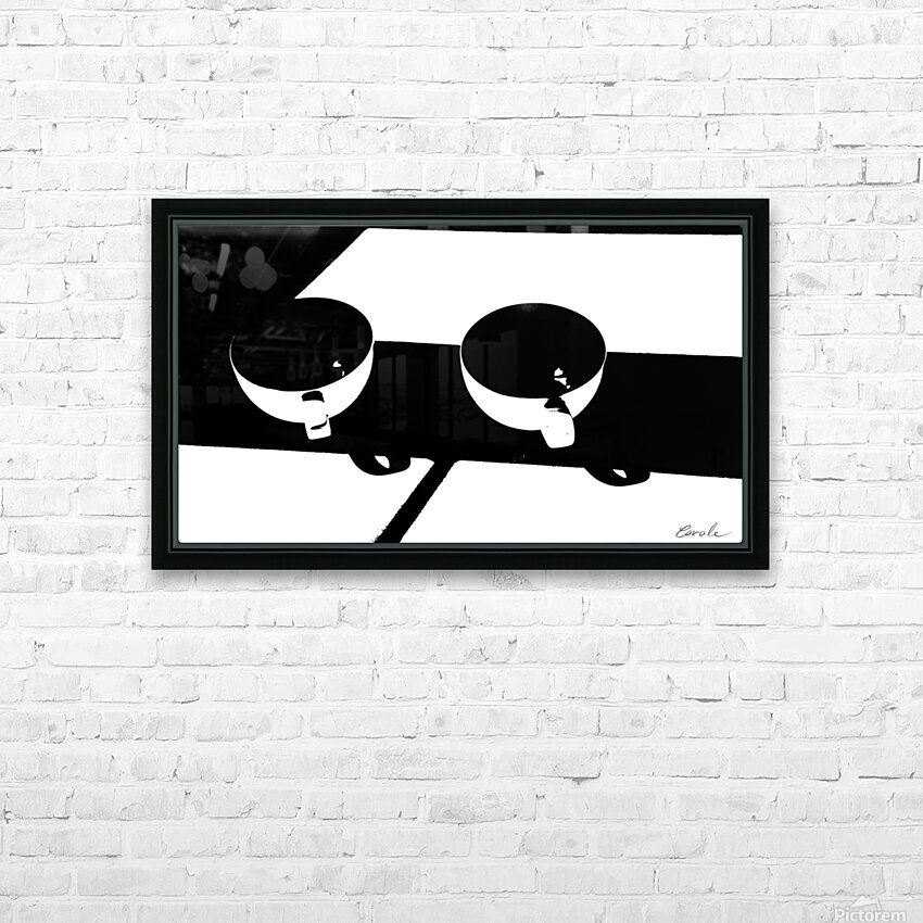 Un Amour Consomme - A Consumed Love  variation 3 NB HD Sublimation Metal print with Decorating Float Frame (BOX)