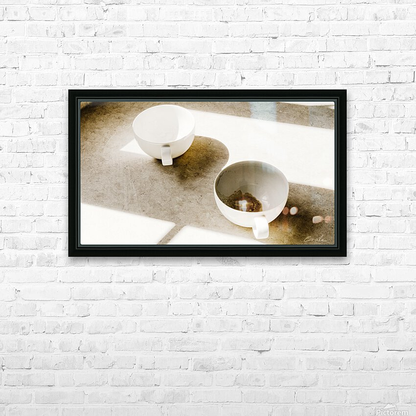 Un Amour Consomme - A Consumed Love  variation 4 HD Sublimation Metal print with Decorating Float Frame (BOX)