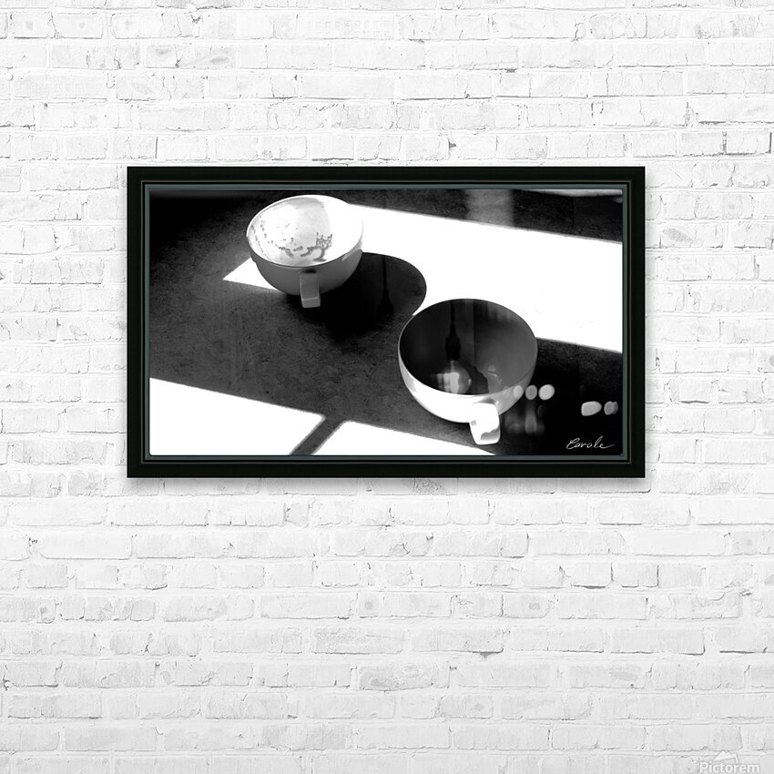 Un Amour Consomme - A Consumed Love  variation 4 NB HD Sublimation Metal print with Decorating Float Frame (BOX)