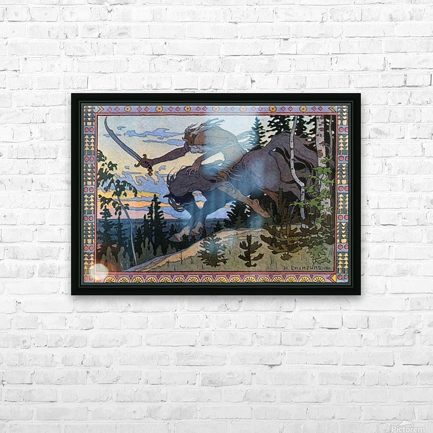 Fantasy Poster HD Sublimation Metal print with Decorating Float Frame (BOX)