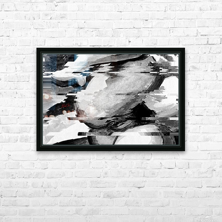 Goddess Amelie Limited Edition 5 Prints only HD Sublimation Metal print with Decorating Float Frame (BOX)