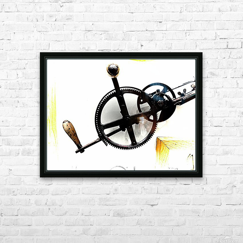 Antique Aspirations Towards Steampunk HD Sublimation Metal print with Decorating Float Frame (BOX)