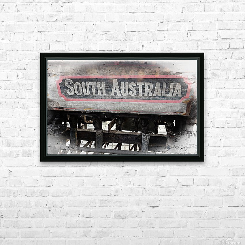 South Australia Sign HD Sublimation Metal print with Decorating Float Frame (BOX)