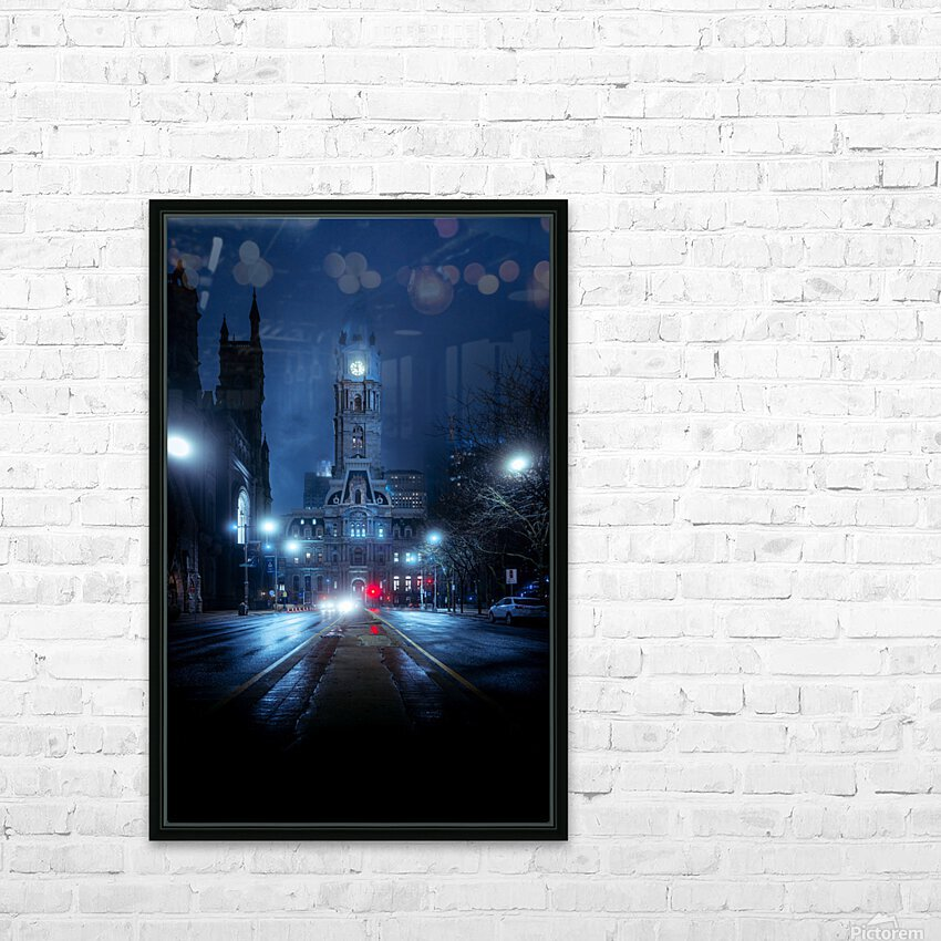 Neo-Gotham HD Sublimation Metal print with Decorating Float Frame (BOX)