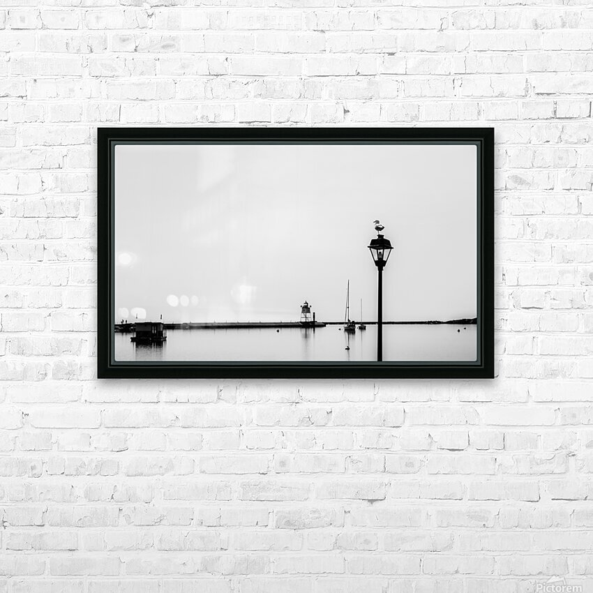 A Gray Day HD Sublimation Metal print with Decorating Float Frame (BOX)