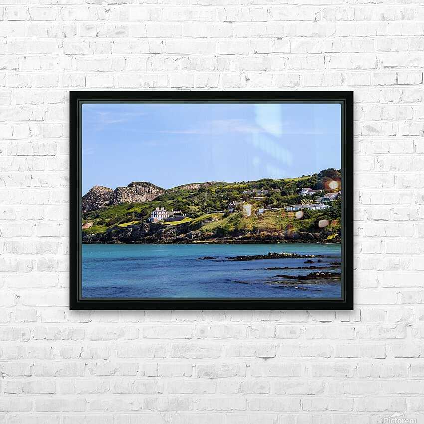 Howth Ireland HD Sublimation Metal print with Decorating Float Frame (BOX)
