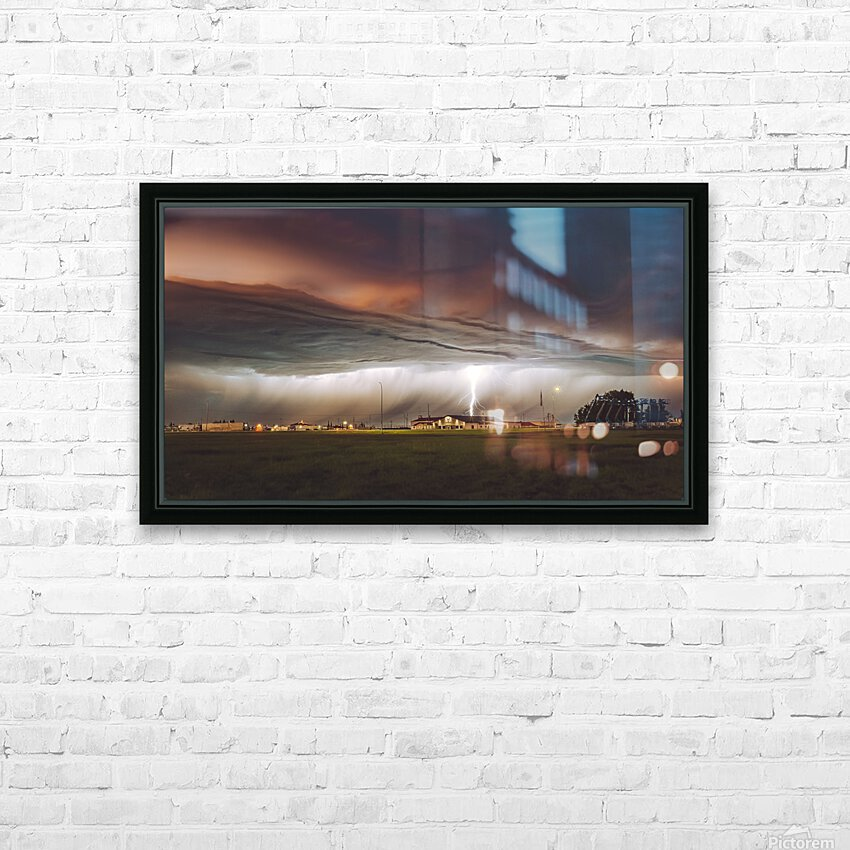 Shot In The Dark HD Sublimation Metal print with Decorating Float Frame (BOX)