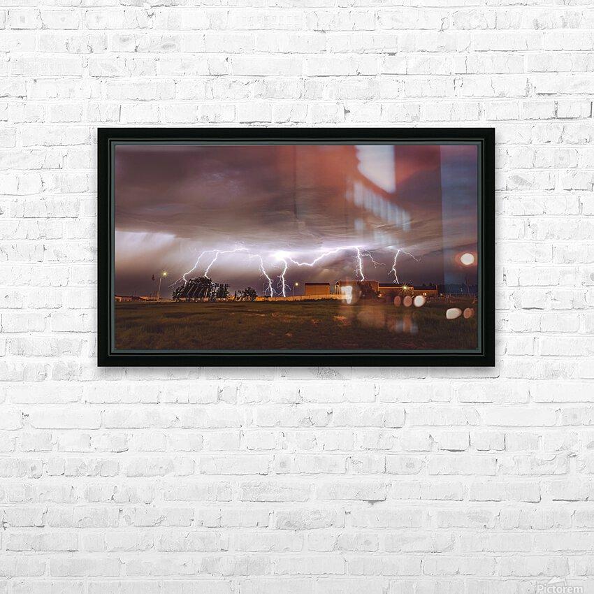 Light em Up  HD Sublimation Metal print with Decorating Float Frame (BOX)