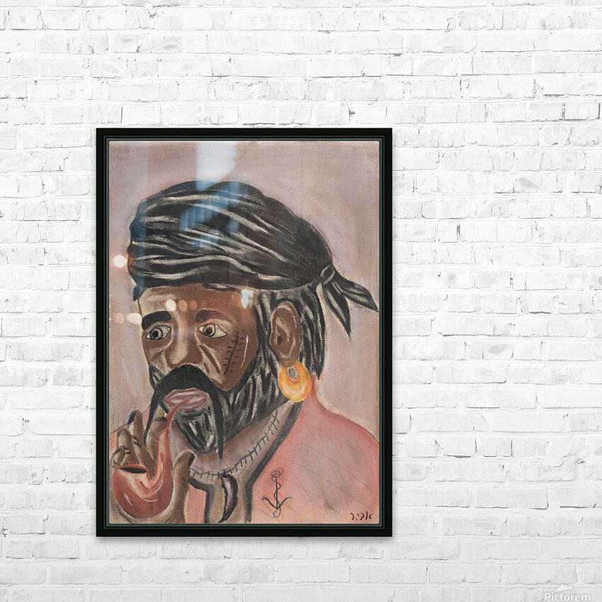 RA 004 - פיראט - Pirate HD Sublimation Metal print with Decorating Float Frame (BOX)
