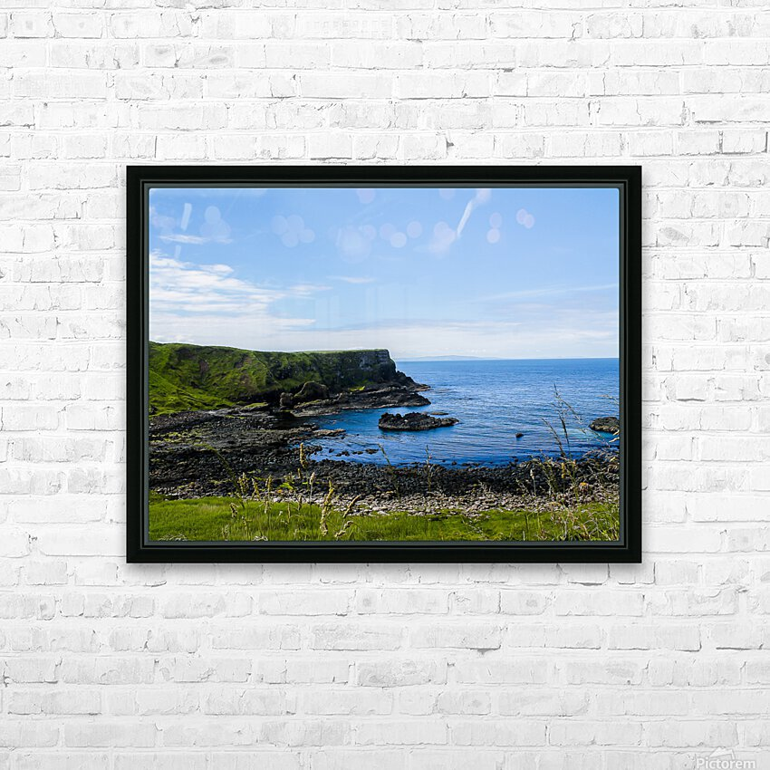 Northern Ireland Coast View II HD Sublimation Metal print with Decorating Float Frame (BOX)