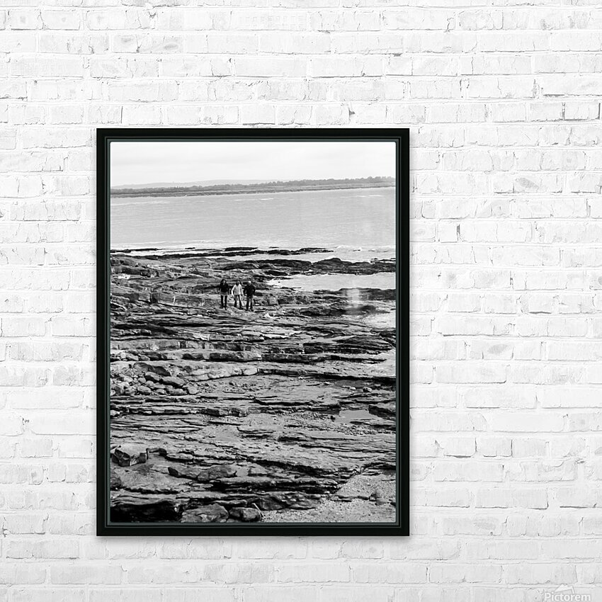 Over Rocks HD Sublimation Metal print with Decorating Float Frame (BOX)