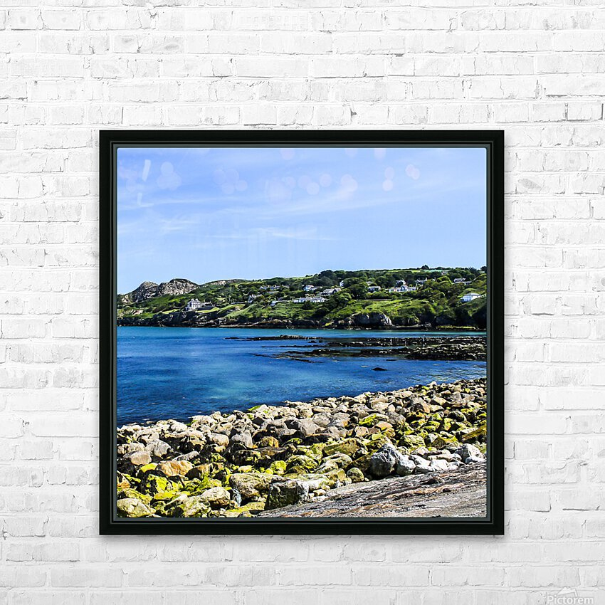 Howth Ireland IV HD Sublimation Metal print with Decorating Float Frame (BOX)