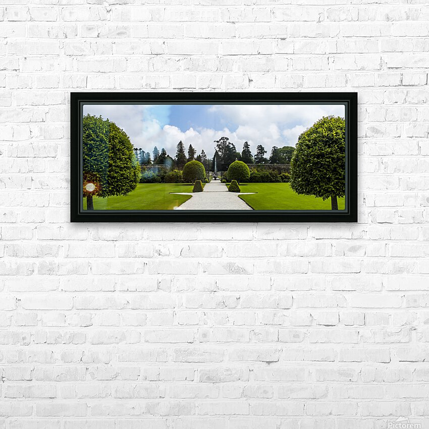 Garden HD Sublimation Metal print with Decorating Float Frame (BOX)