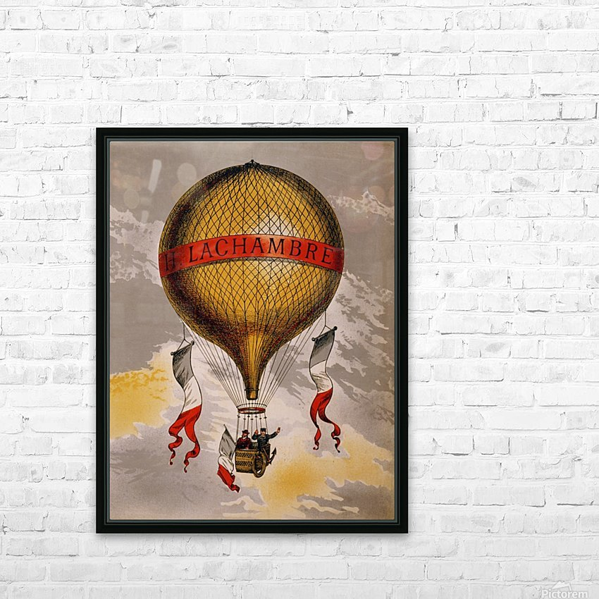 Lachambre Balloon HD Sublimation Metal print with Decorating Float Frame (BOX)