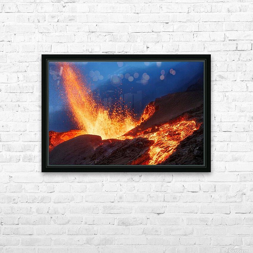 Hot Landscape HD Sublimation Metal print with Decorating Float Frame (BOX)