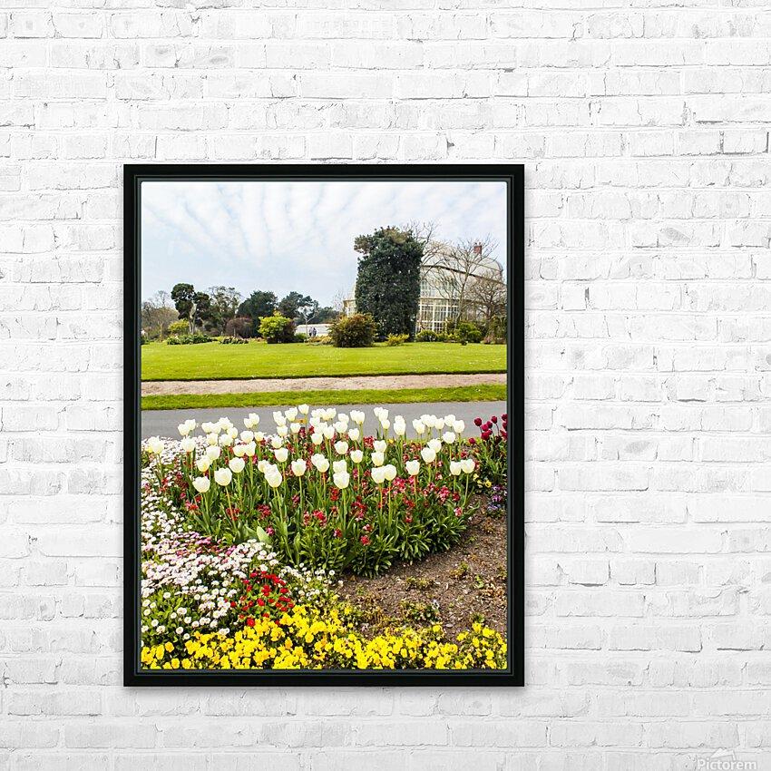 Botanic Garden II HD Sublimation Metal print with Decorating Float Frame (BOX)