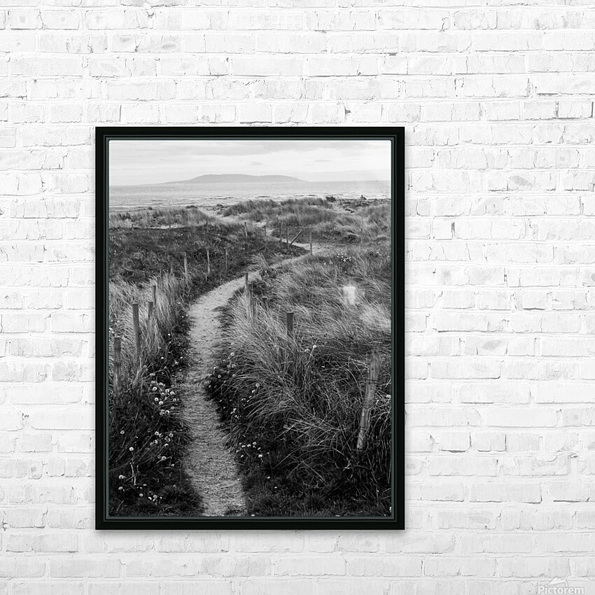 Path to the Sea HD Sublimation Metal print with Decorating Float Frame (BOX)