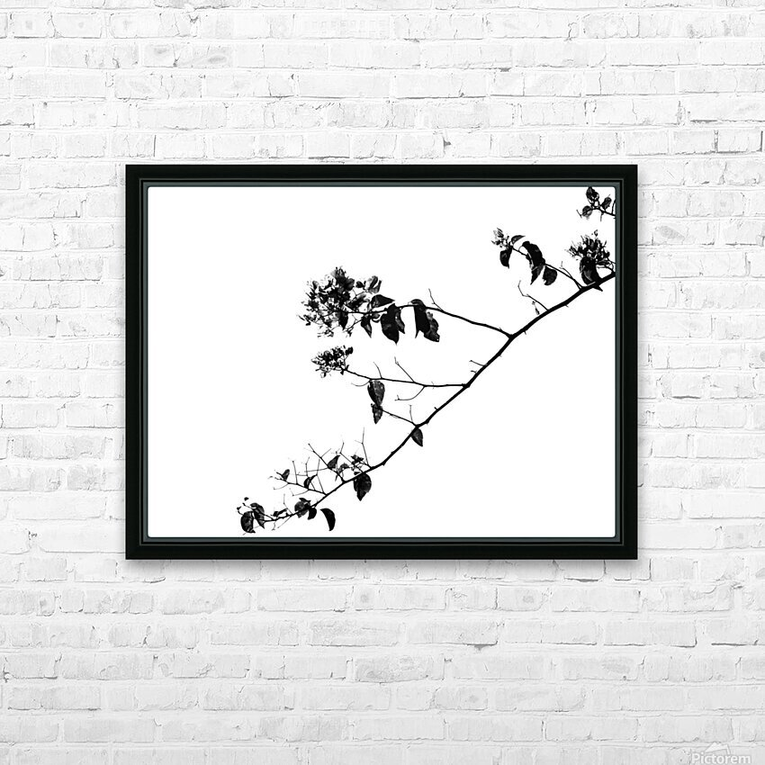 Tree Branch II HD Sublimation Metal print with Decorating Float Frame (BOX)