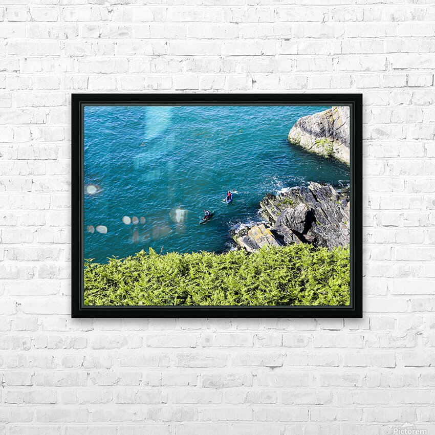 Adventure in Howth Ireland HD Sublimation Metal print with Decorating Float Frame (BOX)