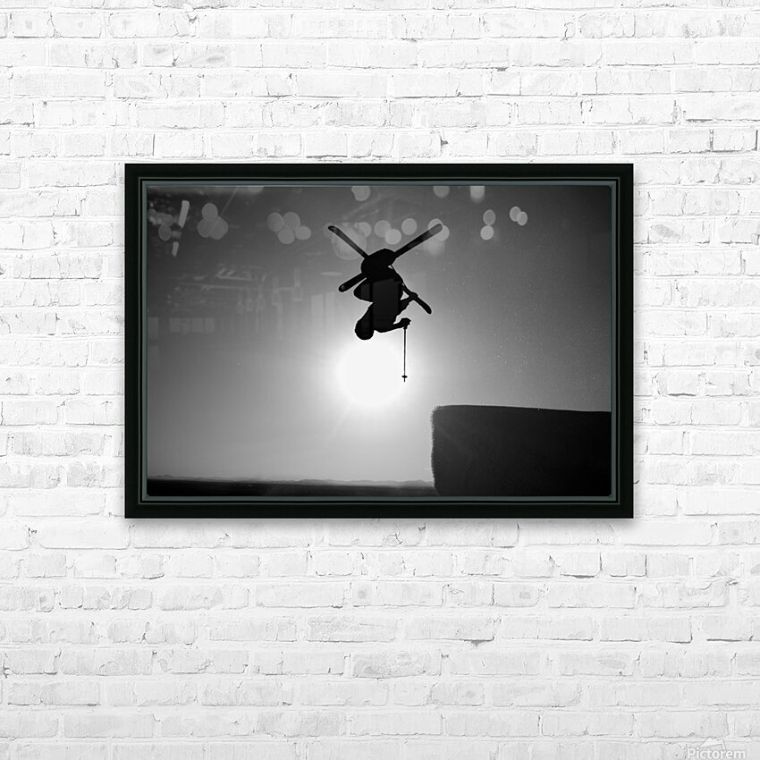 Icarus HD Sublimation Metal print with Decorating Float Frame (BOX)