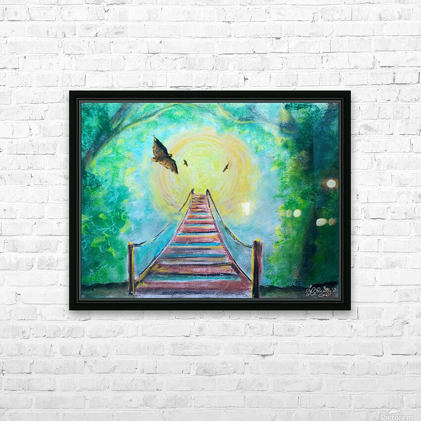The Bridge To Next Tuesday HD Sublimation Metal print with Decorating Float Frame (BOX)