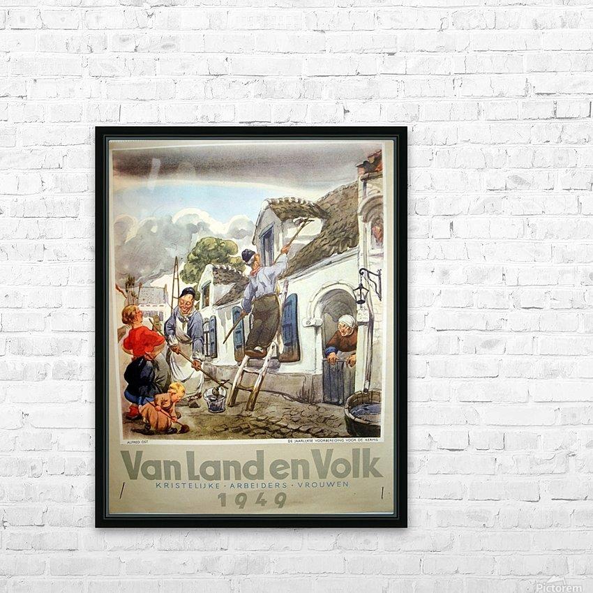 VonLandenVolk HD Sublimation Metal print with Decorating Float Frame (BOX)