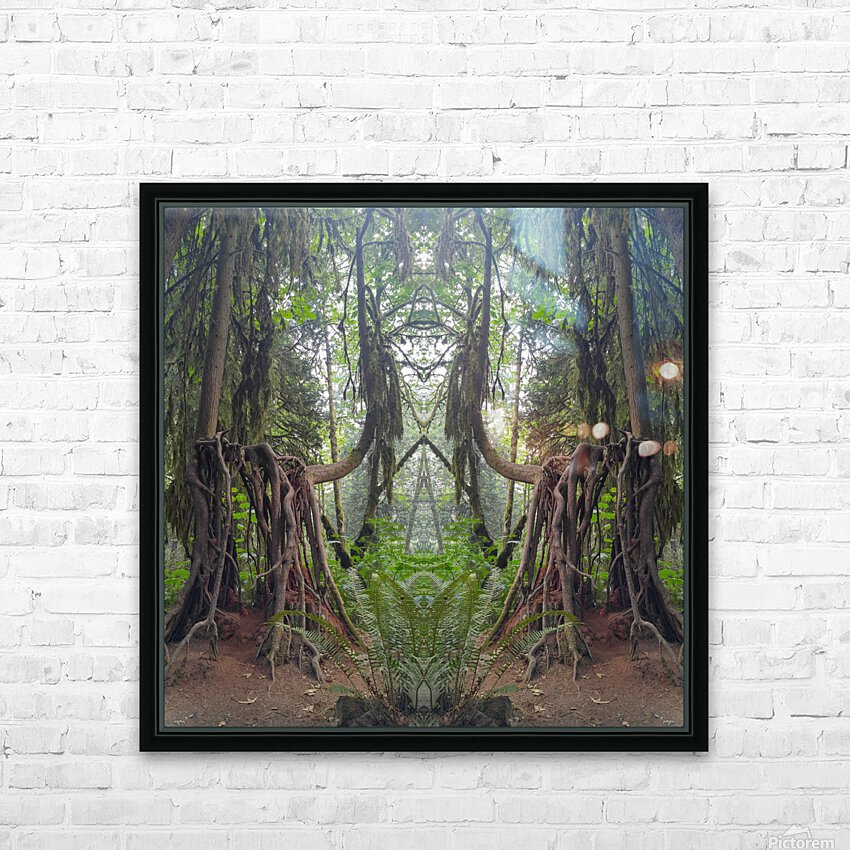 Grandmother Tree HD Sublimation Metal print with Decorating Float Frame (BOX)