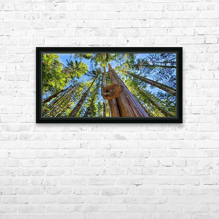 As Above HD Sublimation Metal print with Decorating Float Frame (BOX)