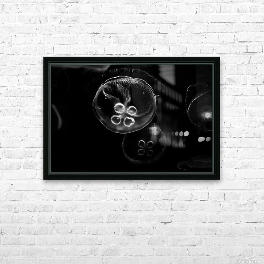 Moonlight Dance  HD Sublimation Metal print with Decorating Float Frame (BOX)
