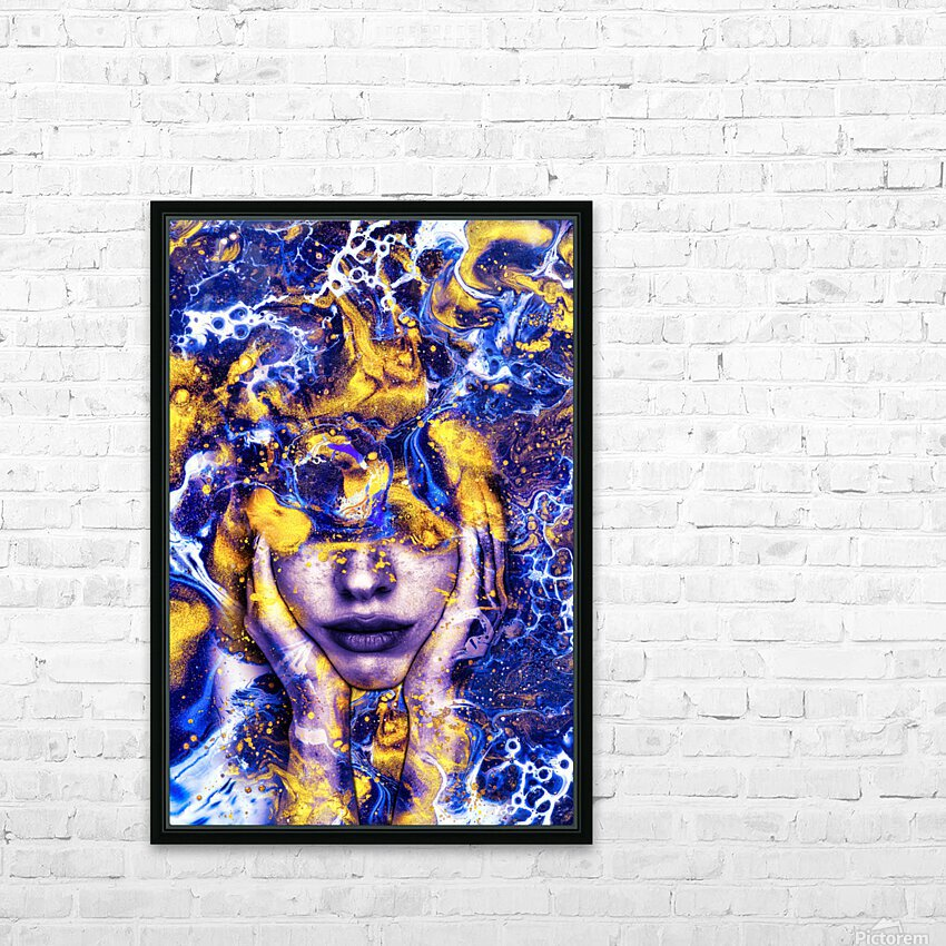 Endless Thoughts HD Sublimation Metal print with Decorating Float Frame (BOX)