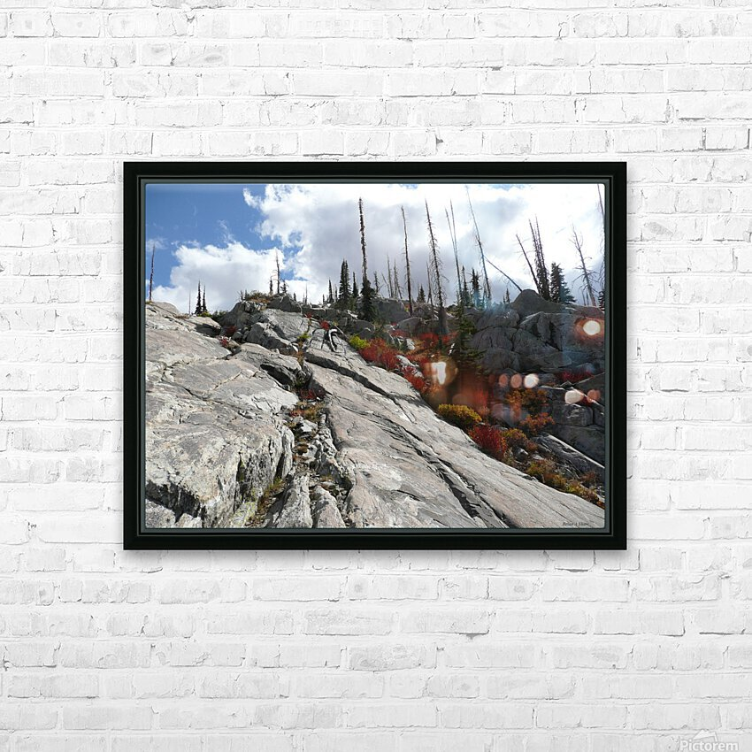 Easy Climb to Grouse Mountain HD Sublimation Metal print with Decorating Float Frame (BOX)