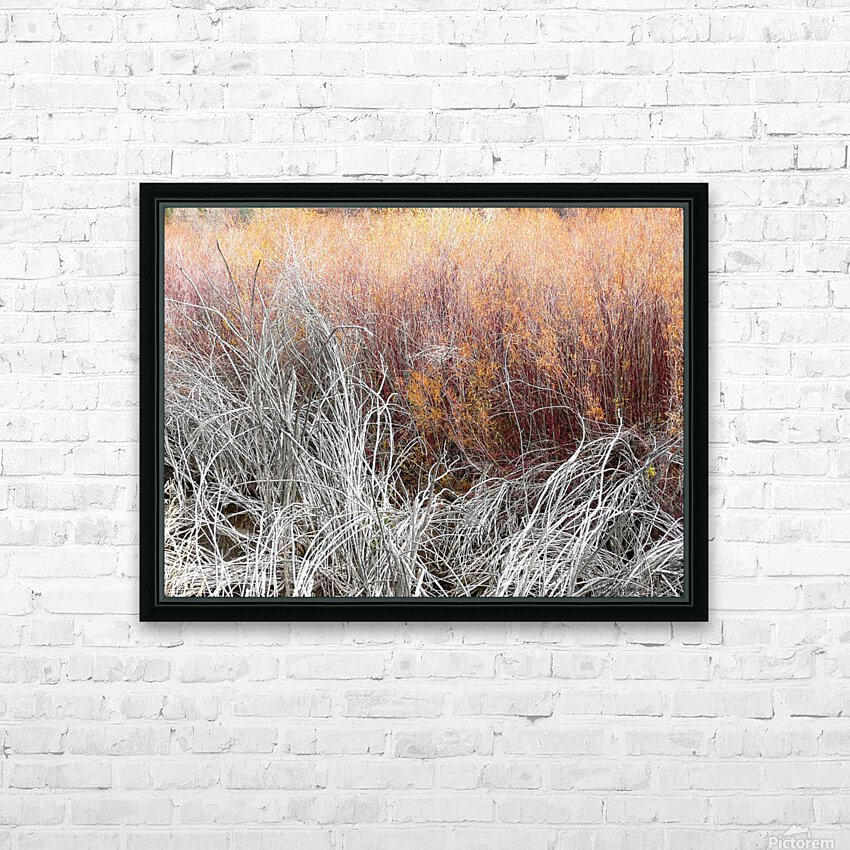 Willows HD Sublimation Metal print with Decorating Float Frame (BOX)