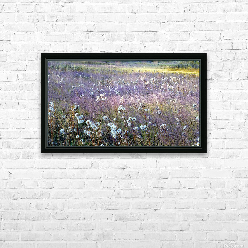 Dream Field HD Sublimation Metal print with Decorating Float Frame (BOX)