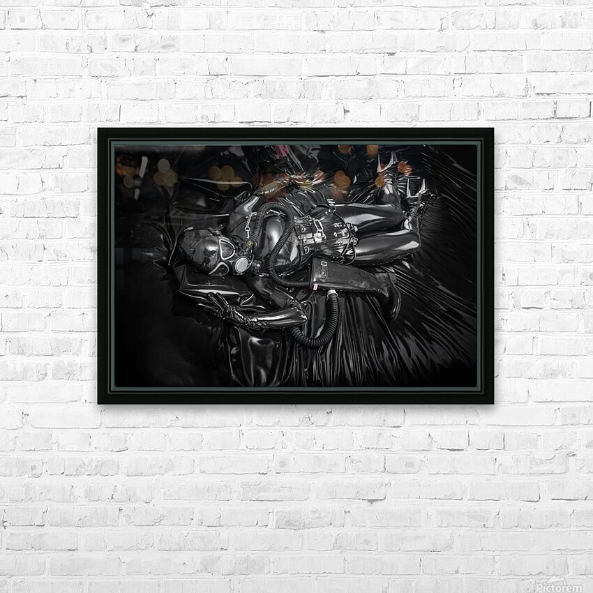 Totally Enclosed MsPervology HD Sublimation Metal print with Decorating Float Frame (BOX)