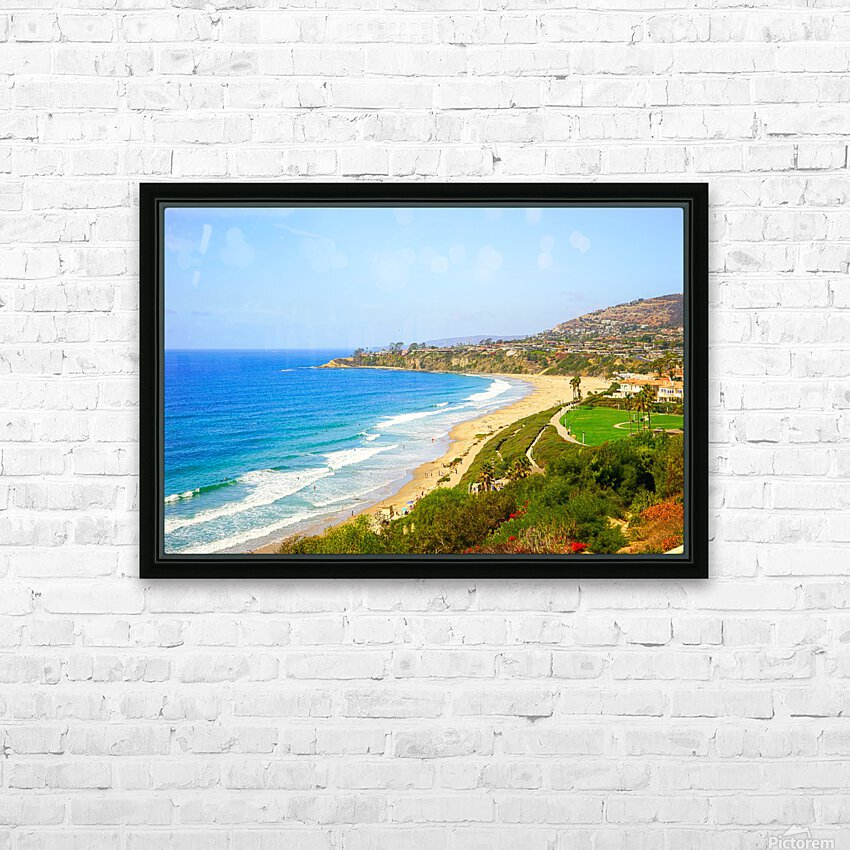 Beautiful Coastal View Newport Beach California 1 of 2 HD Sublimation Metal print with Decorating Float Frame (BOX)