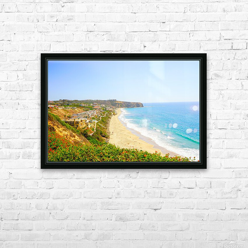 Beautiful Coastal View Newport Beach California 2 of 2 HD Sublimation Metal print with Decorating Float Frame (BOX)