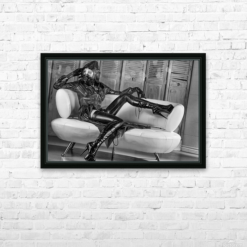 Constance Chaos Couch HD Sublimation Metal print with Decorating Float Frame (BOX)