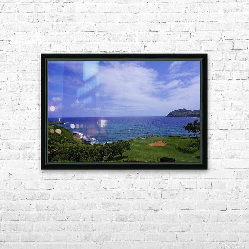 Ninini Point Lighthouse   Kauai Hawaii HD Sublimation Metal print with Decorating Float Frame (BOX)