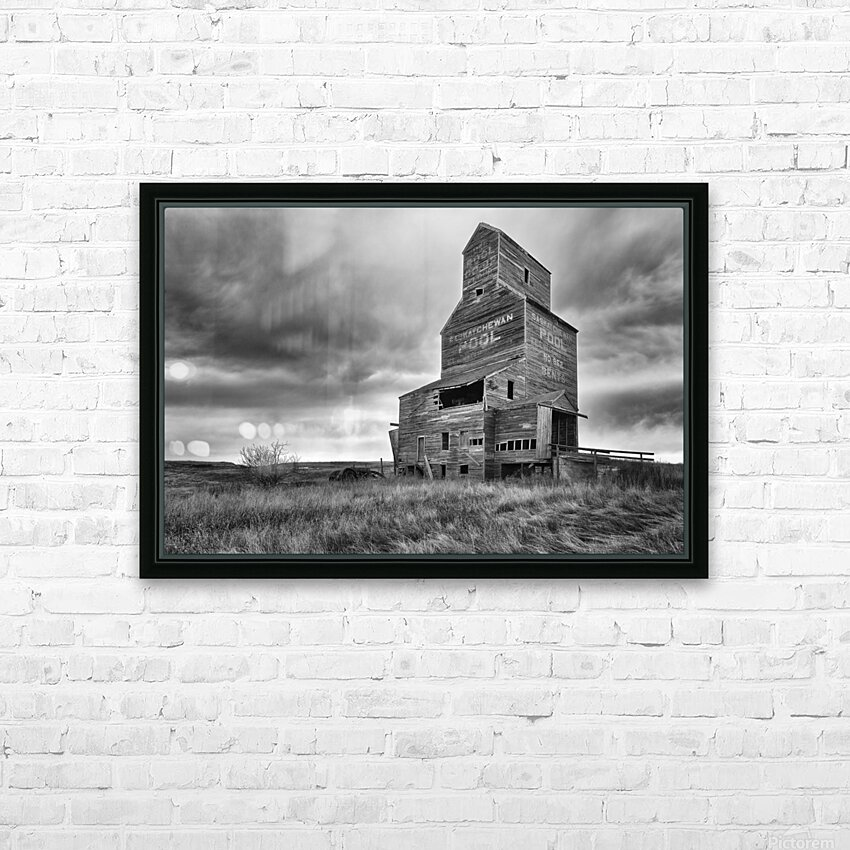 Grain Elevator HD Sublimation Metal print with Decorating Float Frame (BOX)