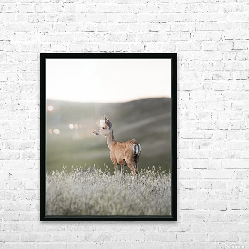Happy Hour on the Prairie HD Sublimation Metal print with Decorating Float Frame (BOX)