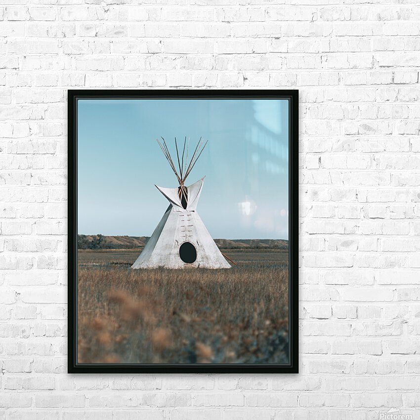Cree Tipi HD Sublimation Metal print with Decorating Float Frame (BOX)
